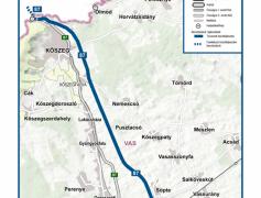 A NIF Zrt. megbízásából a TURA-Terv Kft és Pannonway Kft készíti a Szombathely – Kőszeg gyorsforgalmi út engedélyezési terveit.